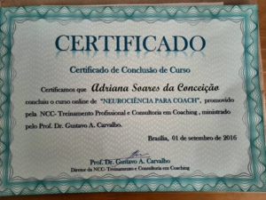 Certificado Neurociência